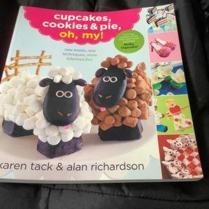 Cupcakes,cookies,oh my cookbook